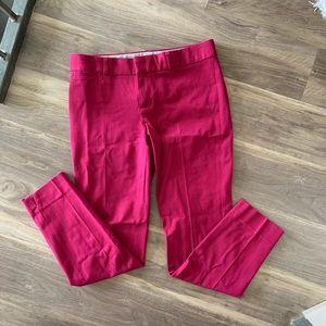 Banana Republic Hot Pink Sloan Fit Dress Pants